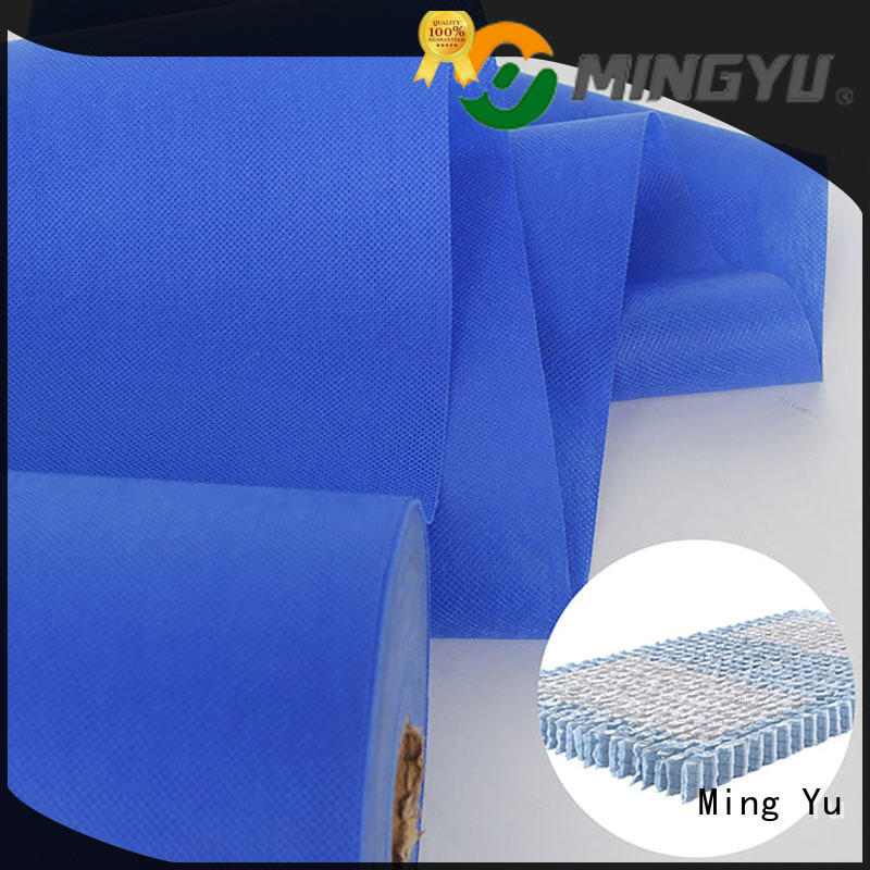wide polyester spunbond fabric rolls for storage