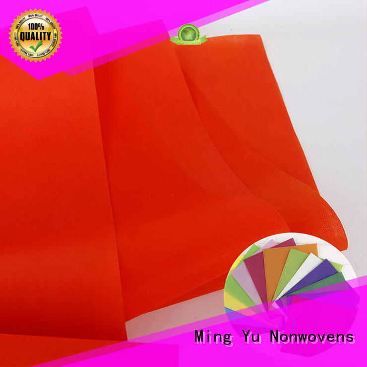 Ming Yu wide pp spunbond nonwoven fabric nonwoven for handbag