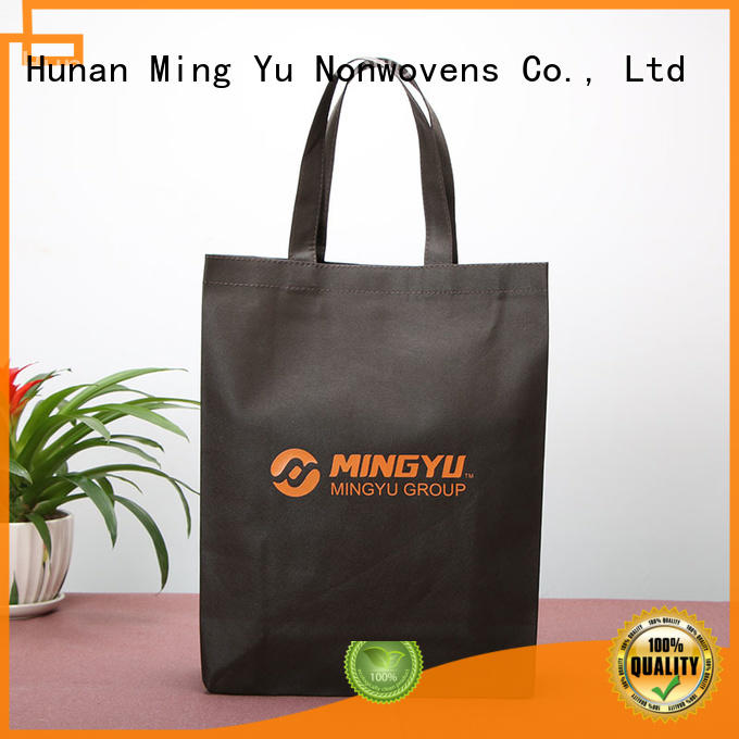 Ming Yu spunbond non woven polypropylene bags colors for home textile