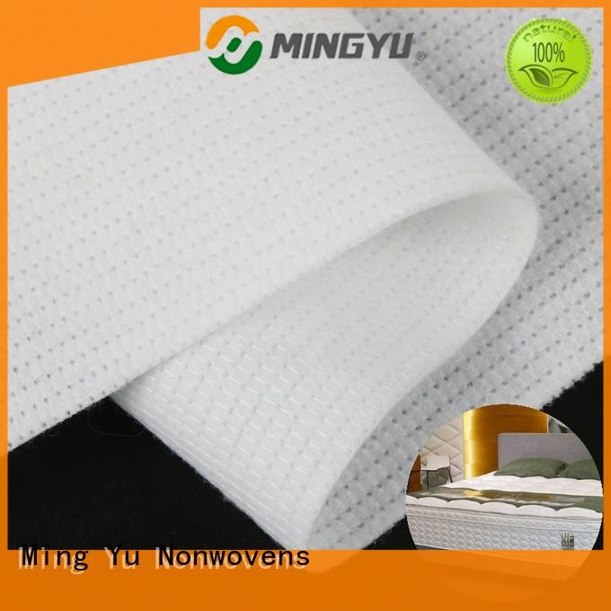 Ming Yu woven stitchbond nonwoven pet for package