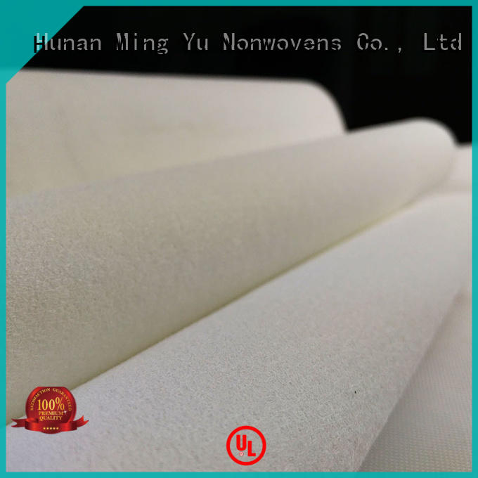 Ming Yu handbag needle punched non woven fabric sale for home textile