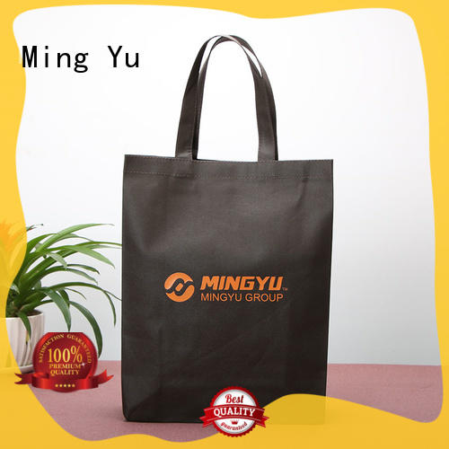 Ming Yu woven non woven promotional bags spunbond for bag