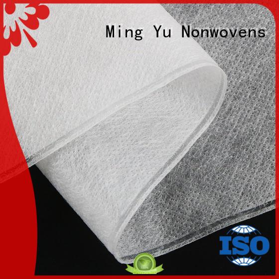 Ming Yu geotextile ground cover fabric polypropylene for handbag