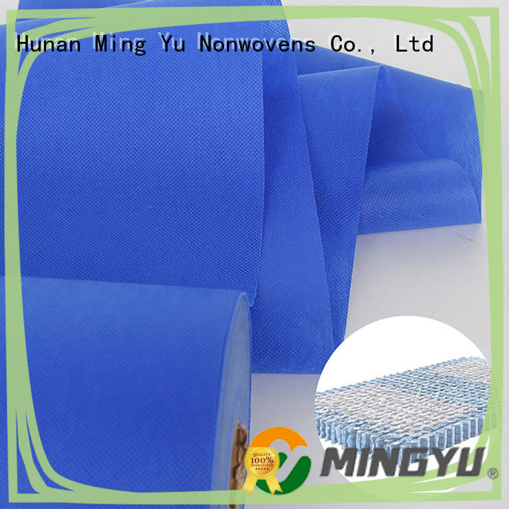 Ming Yu recyclable spunbond nonwoven fabric handbag for home textile