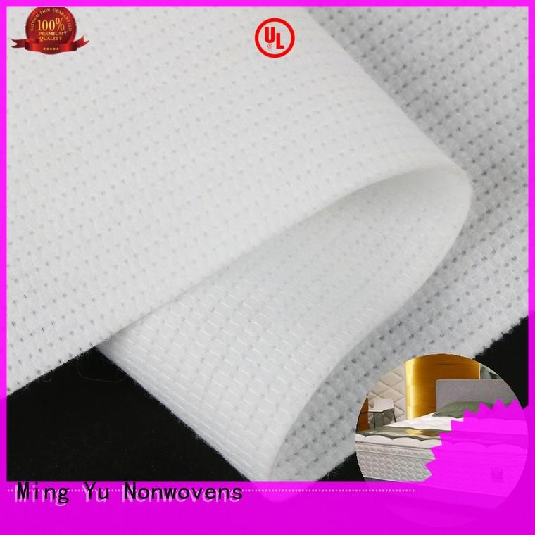 Ming Yu harmless mattress ticking fabric stitchbond for package