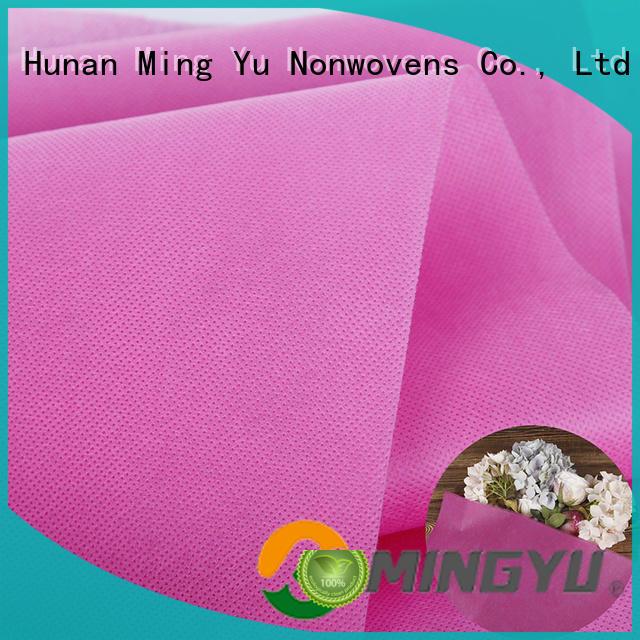 Ming Yu moistureproof spunbond nonwoven fabric nonwoven for handbag