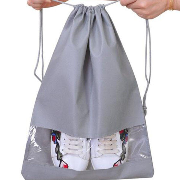 Drawstring nonwoven bag for shoes bag