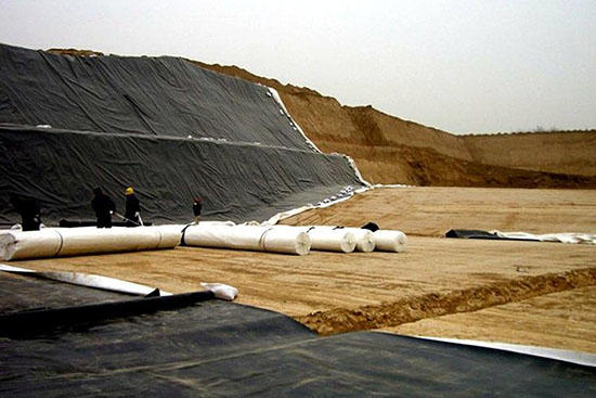 Geotechnical cloth and coated fabric