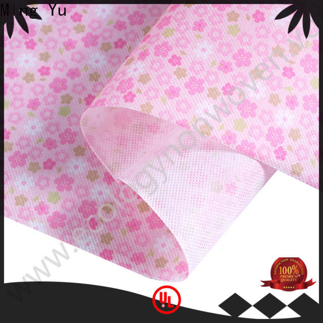Ming Yu non spunbond fabric manufacturers for home textile