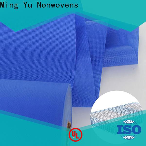 Ming Yu nonwoven non woven polypropylene fabric company for handbag