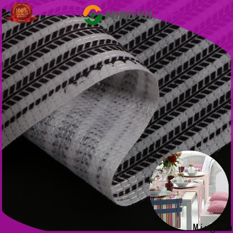 Ming Yu non stitch bonded fabric factory for home textile