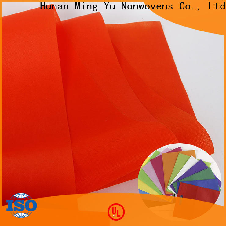 Ming Yu Custom woven polypropylene fabric factory for handbag