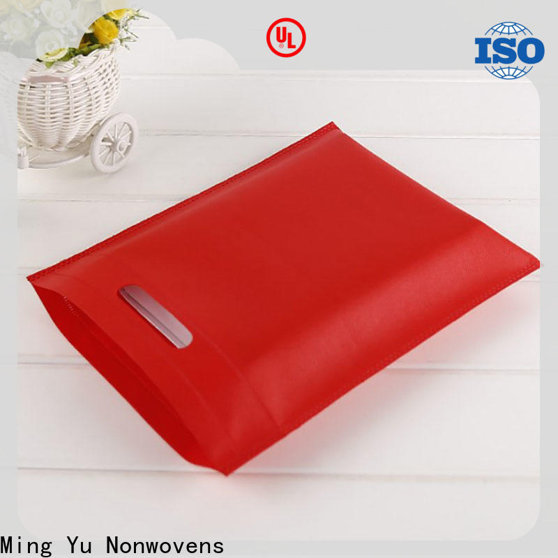 Ming Yu colors non woven tote bags wholesale for business for storage