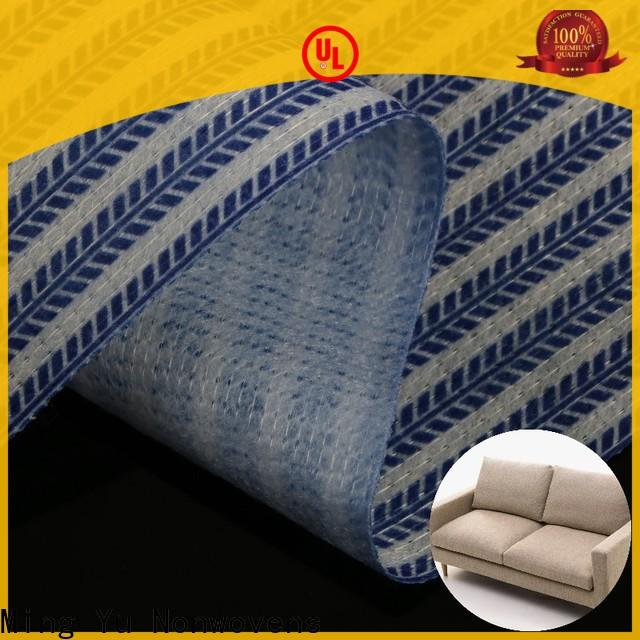 Ming Yu New stitch bonded nonwoven fabric manufacturers for handbag