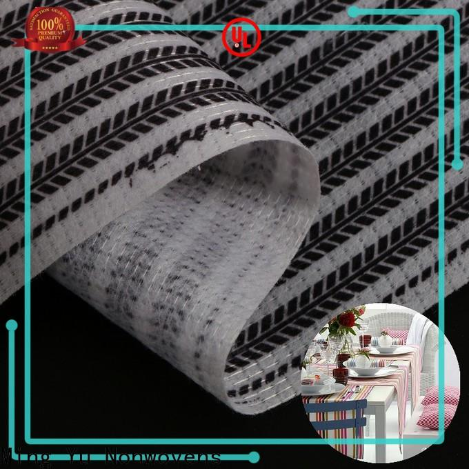 Ming Yu woven non woven polyester fabric company for bag