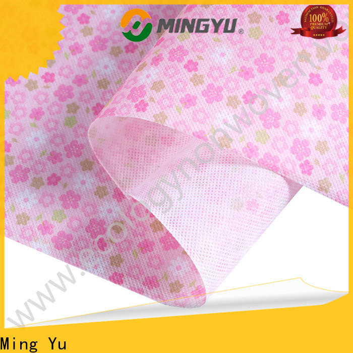 Ming Yu applications pp non woven fabric Suppliers for home textile
