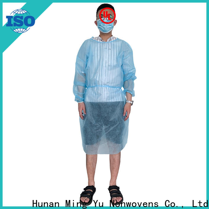 Ming Yu protective clothing Suppliers for hospital