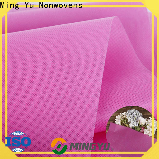 Ming Yu fabric pp spunbond nonwoven fabric Supply for handbag
