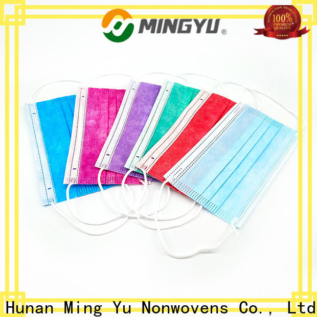 Ming Yu Latest face mask material Suppliers for medical