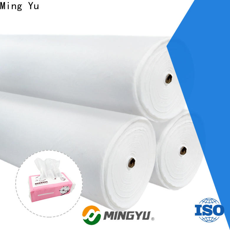 Ming Yu white spunlace nonwoven company for bag