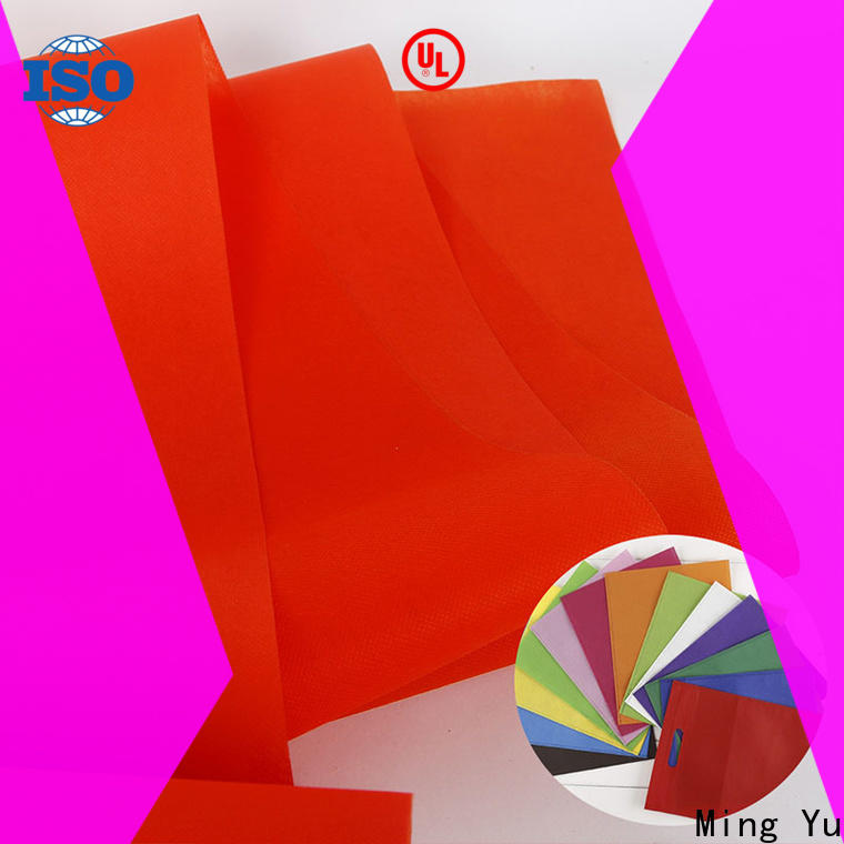 Ming Yu fabric pp non woven fabric company for package