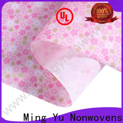 Ming Yu Latest spunbond fabric company for bag