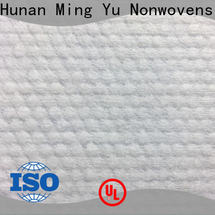 Ming Yu nonwoven spunlace non woven fabric factory for home textile