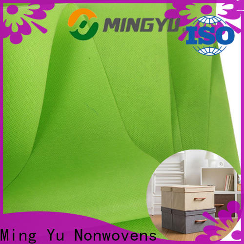Ming Yu Wholesale pp non woven fabric company for handbag
