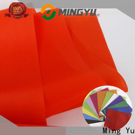 Ming Yu woven pp spunbond nonwoven fabric Supply for home textile