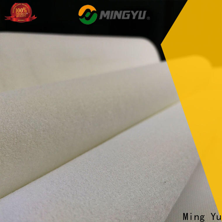 Ming Yu punched needle punched non woven fabric factory for home textile