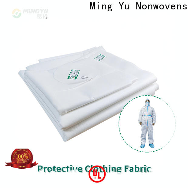 Ming Yu Best non-woven fabric manufacturing Supply for package