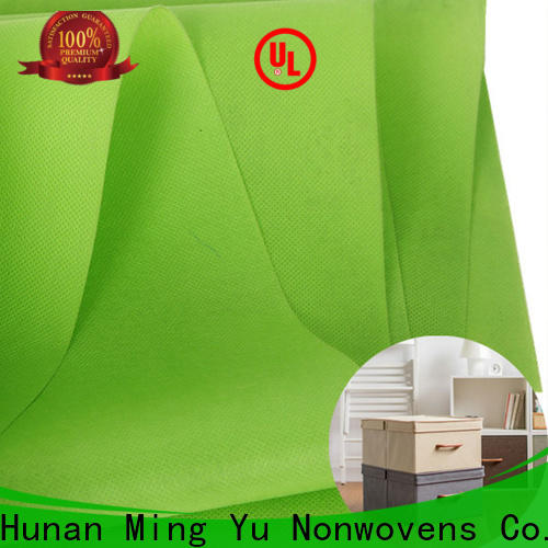 Ming Yu roll spunbond nonwoven manufacturers for handbag