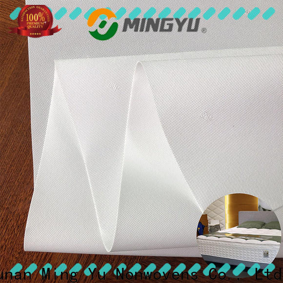 Ming Yu High-quality spunbond nonwoven fabric for business for bag