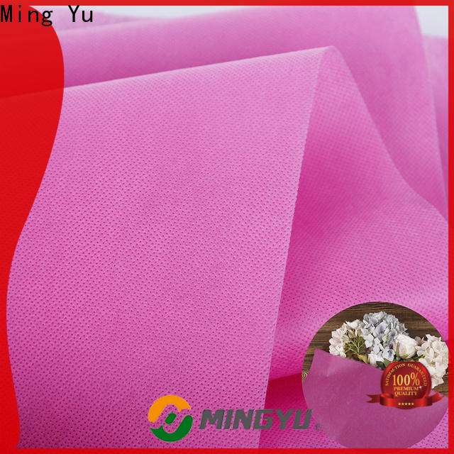 Ming Yu Custom spunbond nonwoven fabric Suppliers for package