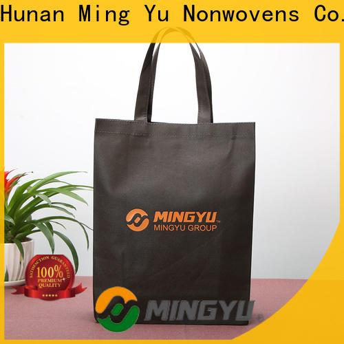 Ming Yu non non woven polypropylene bags Supply for home textile