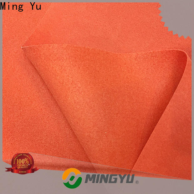 Ming Yu Top bonded fabric Suppliers for handbag