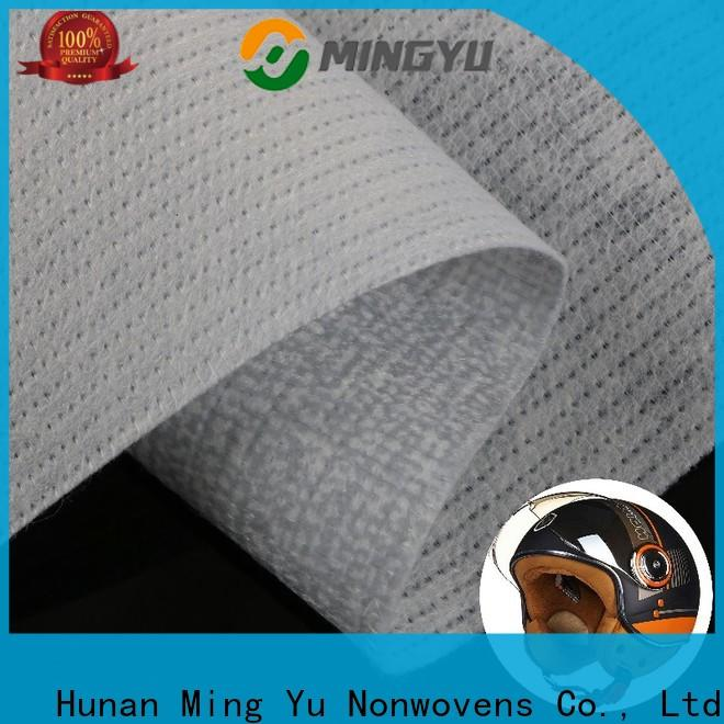 Ming Yu permeability non woven polyester fabric company for bag