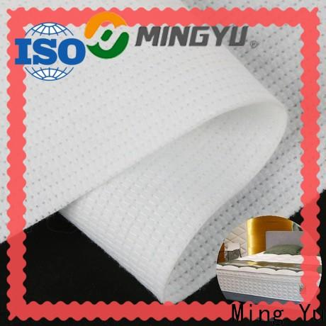 Ming Yu nonwoven stitch bonded fabric for business for handbag