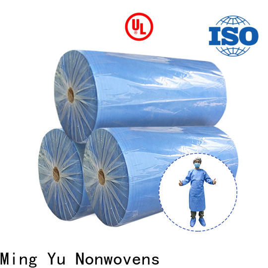 Ming Yu colorful spunbond nonwoven fabric company for handbag