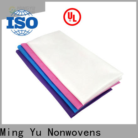 Ming Yu Top woven polypropylene fabric Supply for home textile