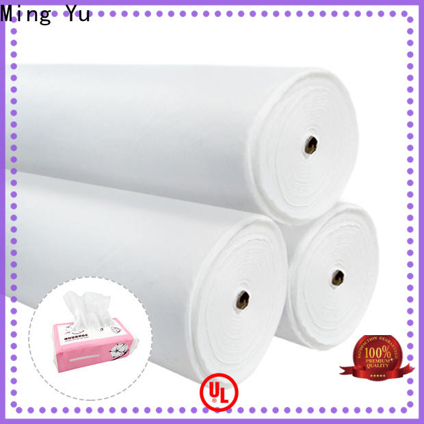 Ming Yu Latest spunlace nonwoven factory for home textile