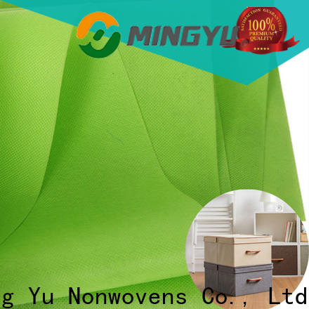 Ming Yu Top pp non woven fabric factory for storage