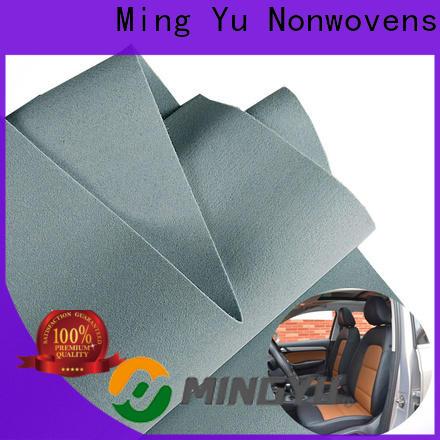 Ming Yu random punch needle fabric Supply for handbag