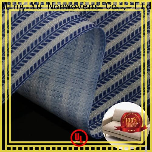 Ming Yu Custom bonded fabric company for storage