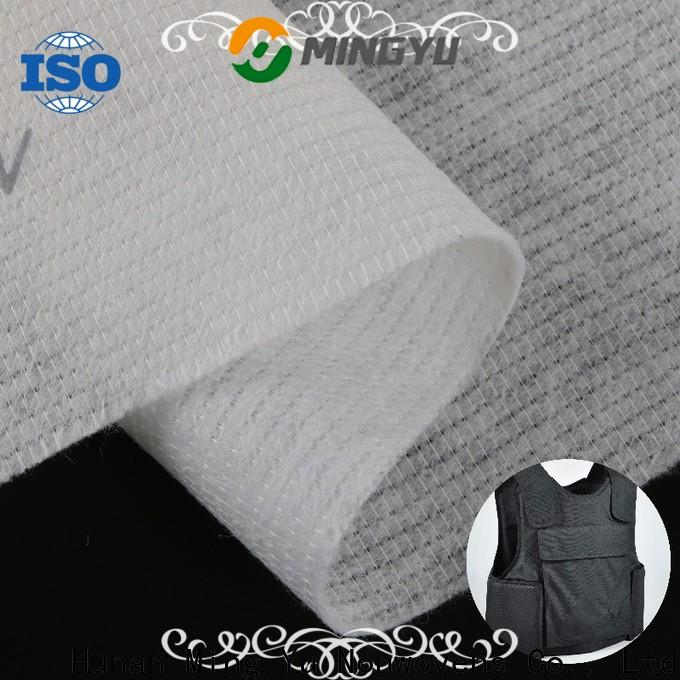 Ming Yu protection stitch bonded fabric manufacturers for bag