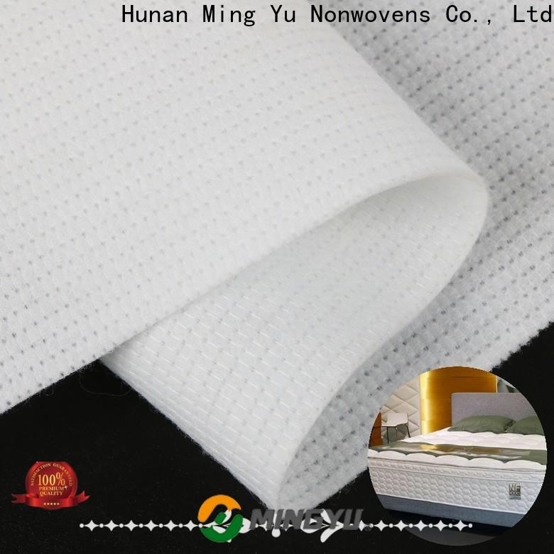 Ming Yu polyester non woven polyester fabric company for bag