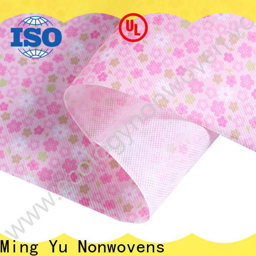 Ming Yu rolls non woven polypropylene manufacturers for home textile