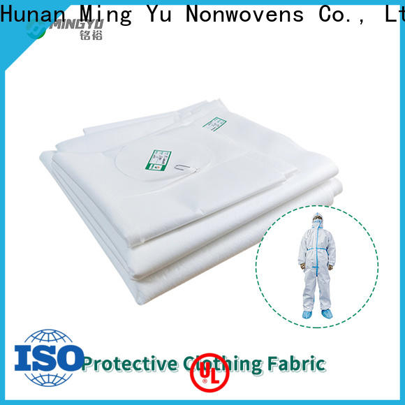 Ming Yu quality non-woven fabric manufacturing company for handbag