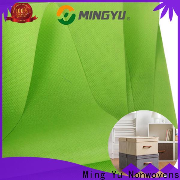 Ming Yu moistureproof pp non woven Supply for handbag