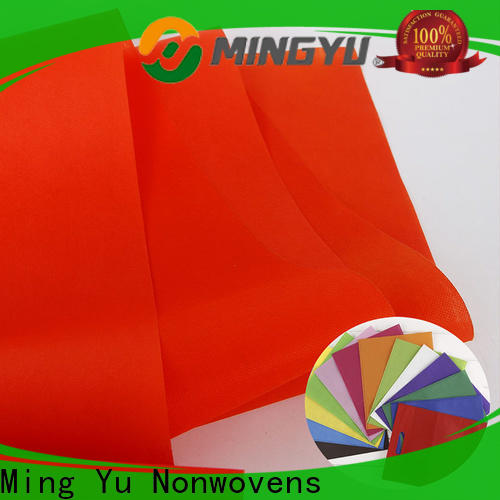 Ming Yu Custom spunbond nonwoven Suppliers for home textile